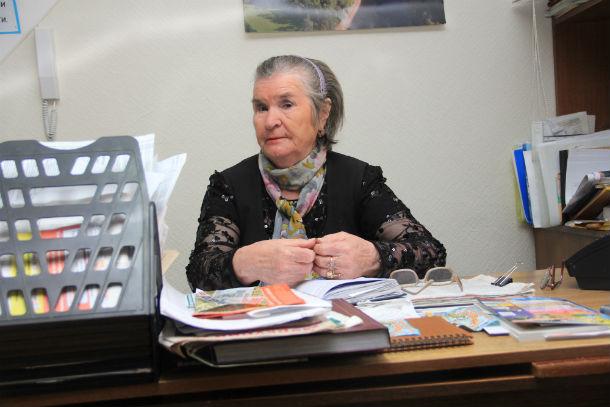 Галина Мансурова Фото из архива редакции