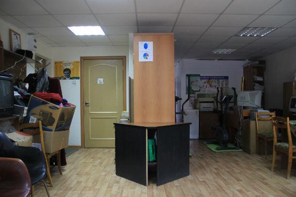 Так выглядит помещение, занимаемое обществом инвалидом, сейчас Фото из архива редакции
