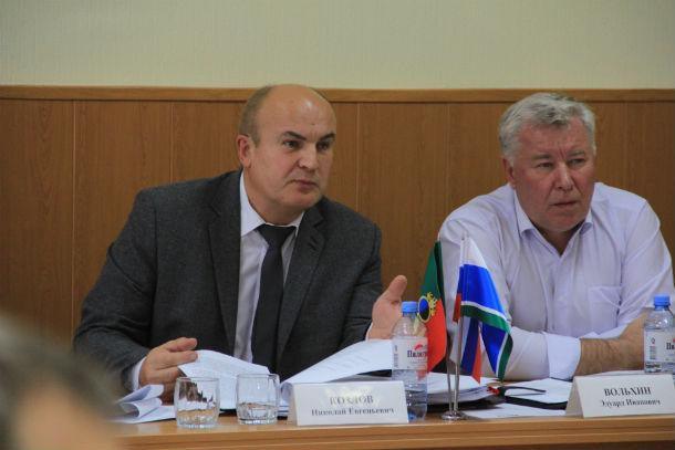 Николай Козлов, глава городского округа Фото из архива редакции