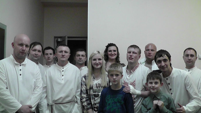 Участники турнира Фото предоставлено Валерием Сивоконем