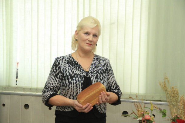 Хлебопекарь Вера Феденева Фото Анны Неволиной
