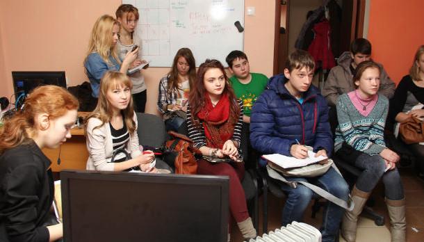 Первое организационное собрание в молодежке Фото из архива редакции