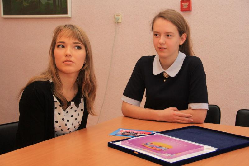Ирина Кириллова и Виктория Цыпушкина