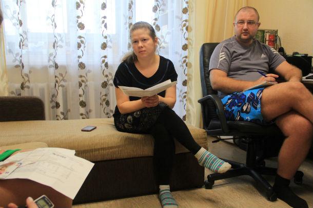 Наталья Марченко, жительница дома №7 по улице Ленина Фото Ольги Хмелевой