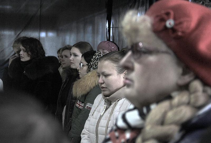 Прощание с Вадимом Белоконем. Фоторепортаж