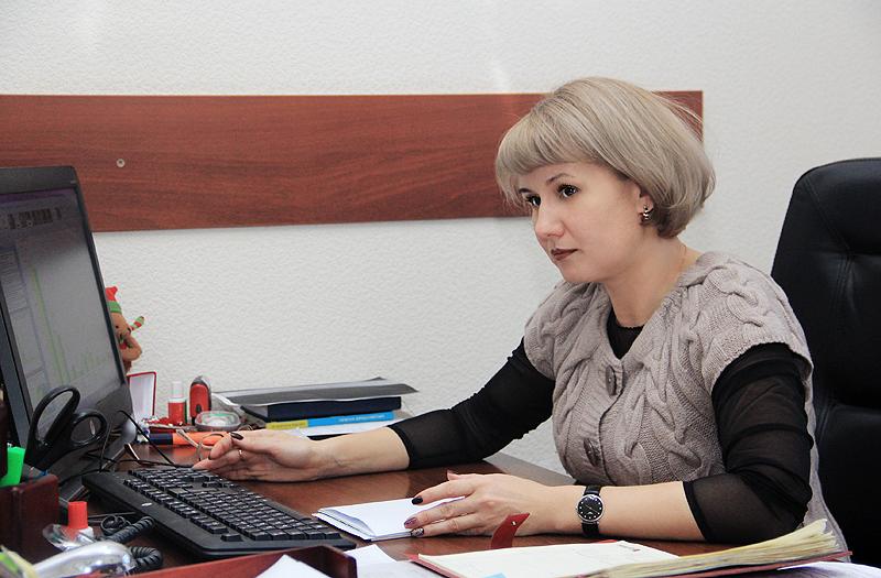 Светлана Гладкова, замглавы по экономике и финансам Фото Анны Неволиной