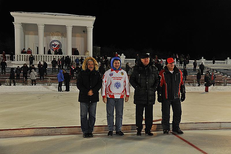 На открытии сезона были и официальные лица города Фото Анны Неволиной
