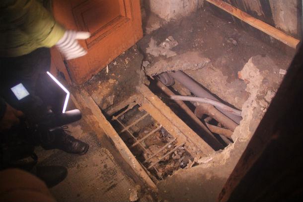Вот так выглядит отремонтированнная система отопления в доме №3 по улице Физкультурников. Фото Анны Неволиной