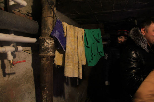 Подвал в доме №3 по улице Физкультурников Фото Анны Неволиной