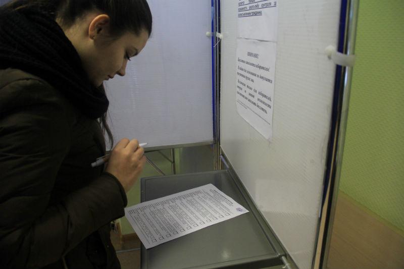 """""""Городские вести"""" тоже проявили свою гражданскую позицию Фото Анны Неволиной"""