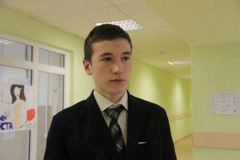 Кандидат от ПМК Михаил Сохраннов Фото Анны Неволиной