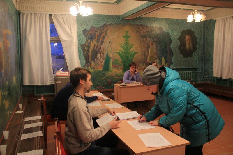 """Выборы на Динасе проходили в комнате """"сказок Бажова"""" Фото Анны Неволиной"""