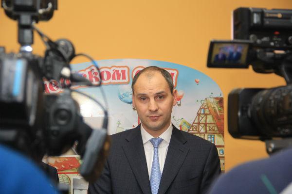 Председатель Правительства Свердловской области Денис Паслер Фото Анны Неволиной