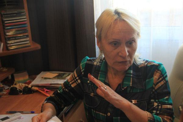 Жительница дома Зоя Ромашова Фото Анны Неволиной
