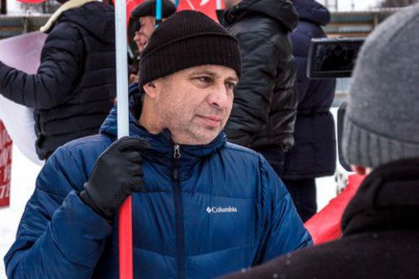 Руководитель первоуральского отделения КПРФ Владимир Вохмяков Фото Александра Ильиных