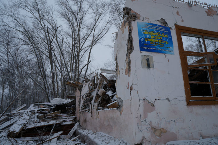 Старую школу снесли в конце декабря прошлого года Фото Анны Неволиной