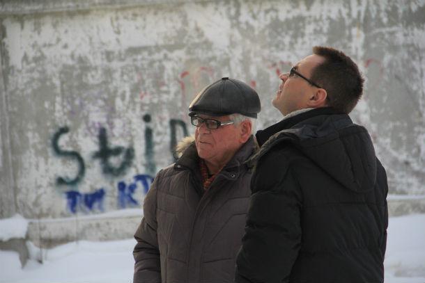 Виктор Карпенко и Станислав Анфиногенов (справа) Фото Анны Неволиной