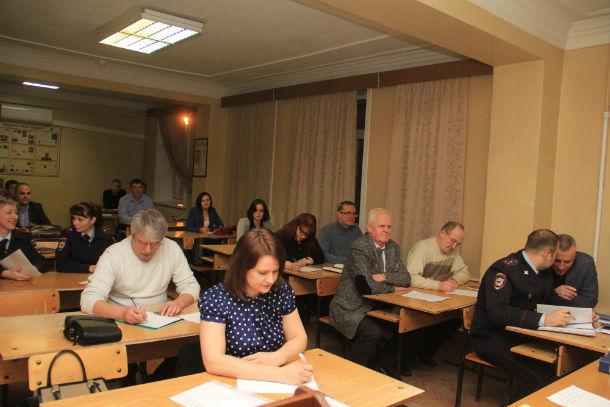 В составе общественного совета при ОМВД сейчас около 30 человек Фото Анны Неволиной