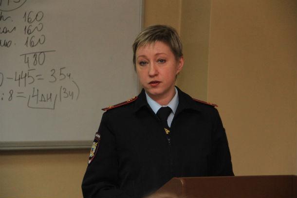 Елена Иванова, начальник ПДН Фото Анны Неволиной