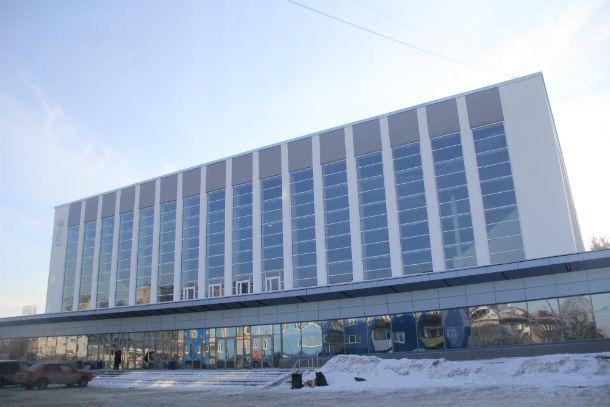 Первоуральский ледовый дворец Фото из архива редакции