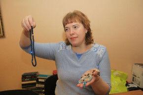 Оксана Смарыгина, рукодельница Фото Анны Неволиной