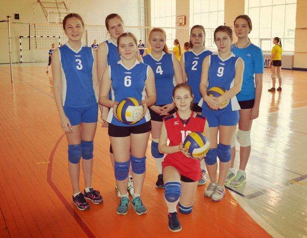 Команда «Юность» (2001-2002 гр) - II место.