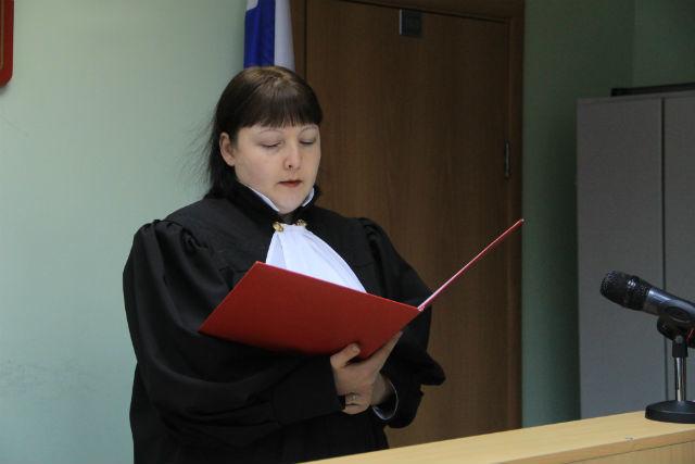 Судья Светлана Новикова Фото Анны Неволиной