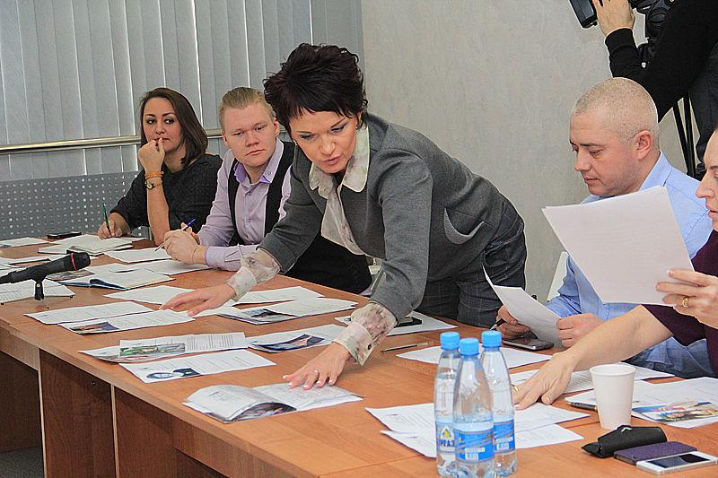 Члены жюри Фото Анны Неволиной
