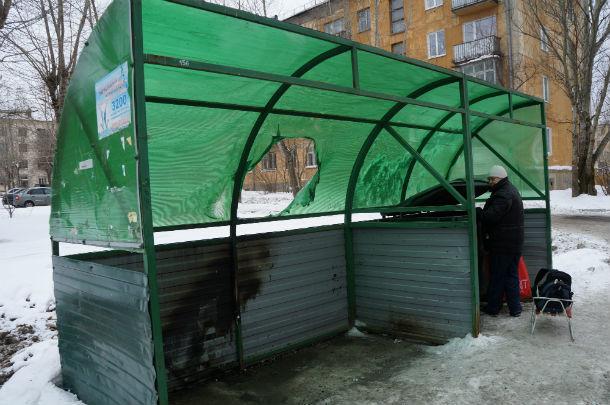 Меньше всех пострадала площадка на 1 Мая, 1 Фото Марии Поповой