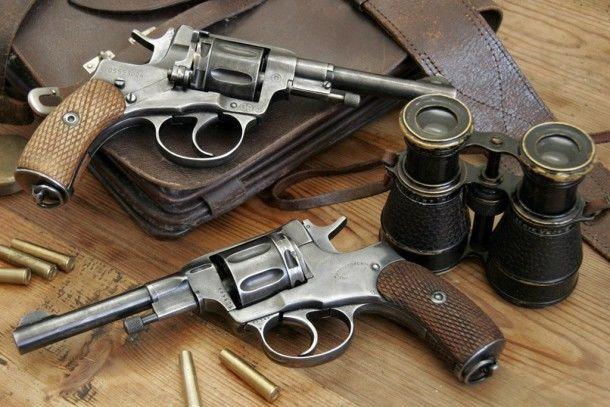 Револьвер системы «Наган» образца 1895 года. Фото с сайта vsr.mil.by