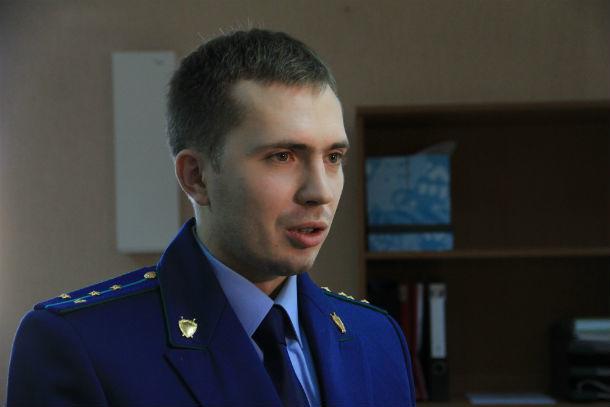 Александр Транзалов, старший помощник прокурора Фото Анны Неволиной