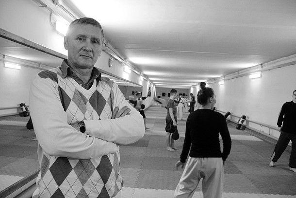 Валерий Воробьев, заслуженный тренер по тхэквондо Фото Анны Неволиной