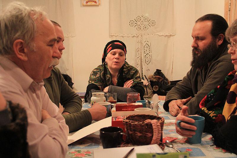 Участница ансамбля Наталья Волоковых Фото Анны Неволиной