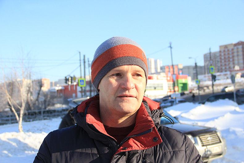 Участник боевых действий в Афганистане Алексей Хаминов