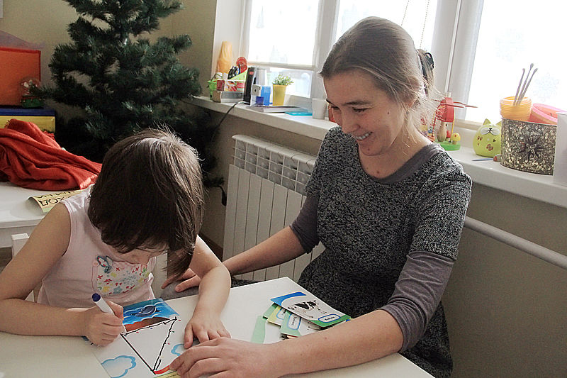 Анна Костюк знает все реакции Варвары и направляет их в нужное русло Фото Анны Неволиной