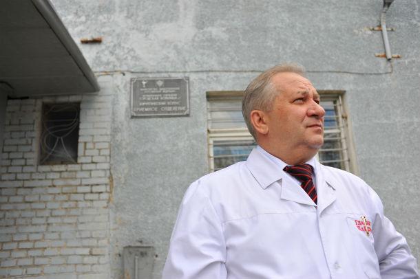 Николай  Шайдуров, главный врач городской больницы Фото из архива редакции