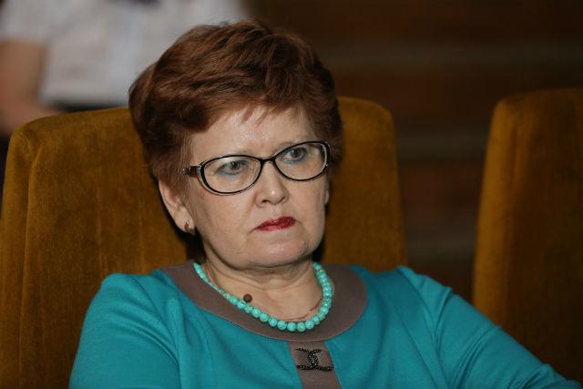Заместитель директора по старшим классам Нина Сидорова  Фото из архива редакции