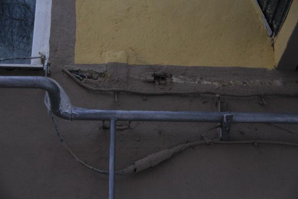 Капремонт на Герцена, 7 оставляет желать лучшего  Фото Анны Неволиной