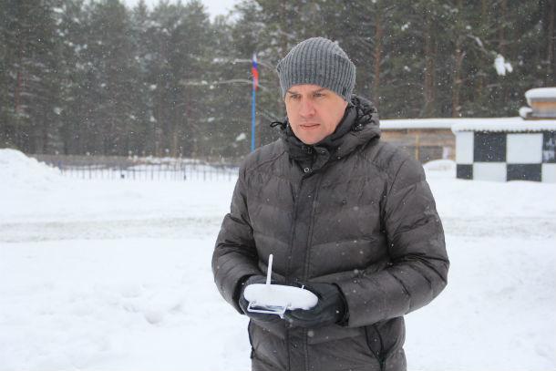 Пилот Константин Крысин Фото Анны Неволиной