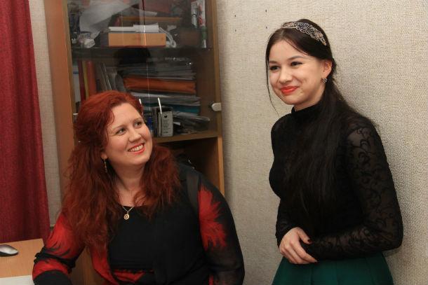 Дарья Алексеева и Наталья Новодворская рассказали о прошедшем в Ревде конкурсе  Фото Анны Неволиной