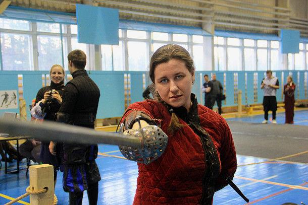 Фехтовальщица Вера Шаршукова  Фото Анны Неволиной