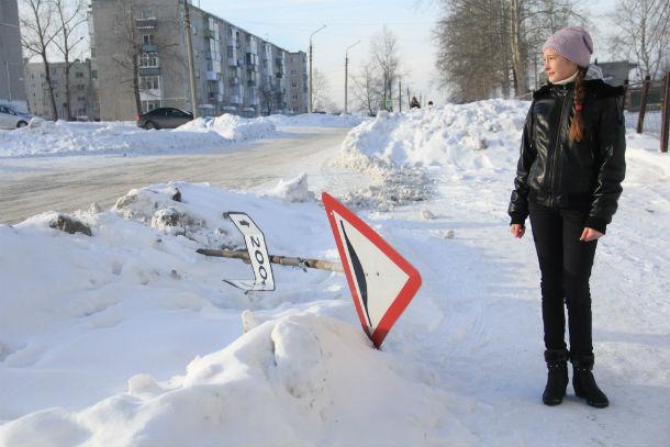 Наталья Янкина переживает за безопасность учеников школы №26 Фото Марии Поповой