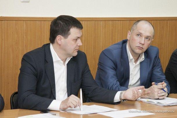 Алексей Дронов, глава администрации Первоуральска Фото Максима Кравчука
