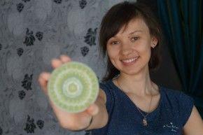 Мастерица по точечной росписи Анастасия Яковлева  Фото Анны Неволиной