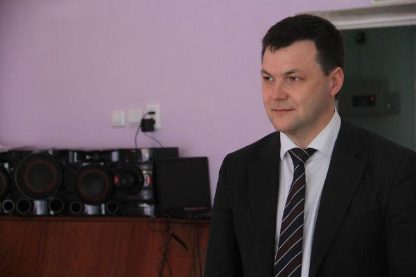 Глава городской администрации Алексей Дронов Фото Анны Неволиной