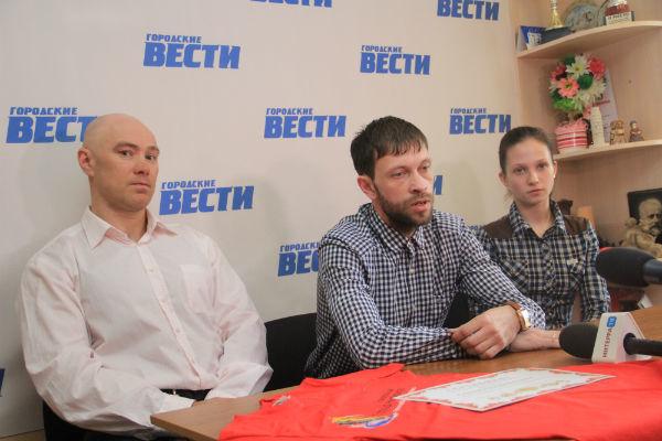 Дмитрий Тахаев, Дмитрий Андреевский, Наталия Севрюгина Фото Анны Неволиной