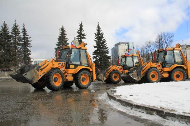 В этом году парад коммунальной техники в Первоуральске пройдет в третий раз  Фото из архива редакции