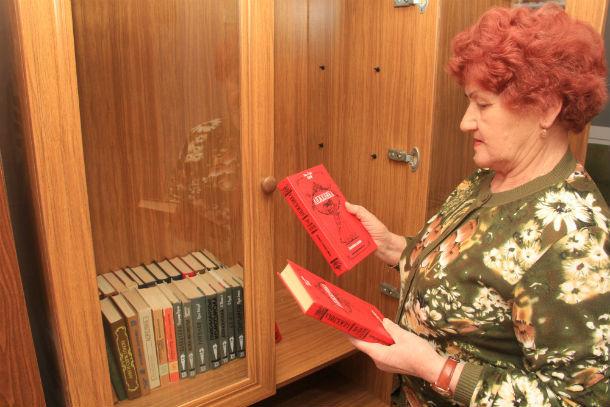 В совете ветеранов с удовольствием приняли новые книги  Фото Анны Неволиной