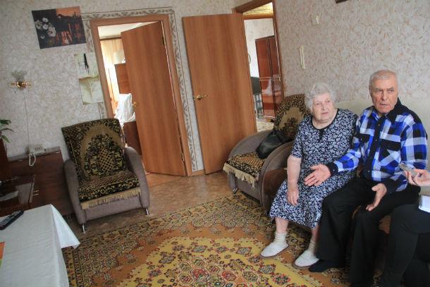 Семейная жизнь супругов Таракиных началась в маленькой комнате общежития. Сейчас пара живет в трехкомнатной квартире Фото Анны Неволиной