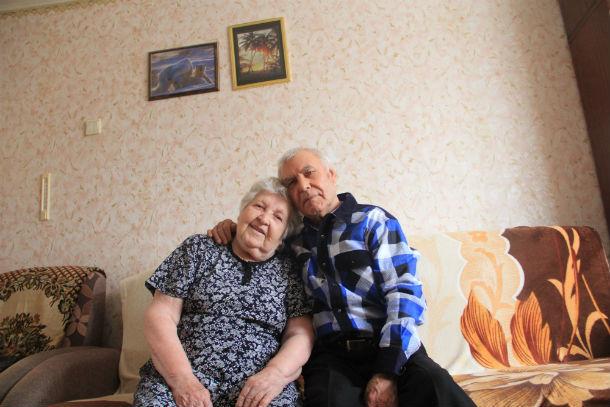 Раиса Андреевна и Михаил Алексеевич считают, что секрет счастливой жизни - в любви и терпении Фото Анны Неволиной
